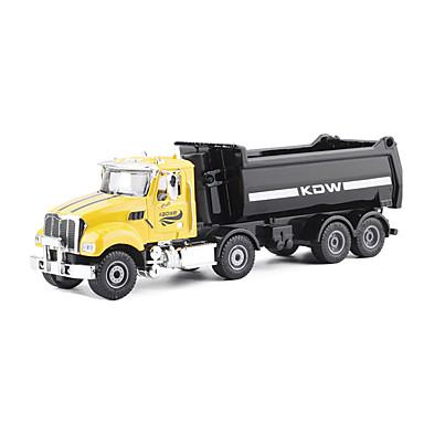KDW Caminhão basculante Caminhões & Veículos de Construção Civil Carros de Brinquedo Carrinhos de Fricção 01:32 Metalic Plástico Unisexo