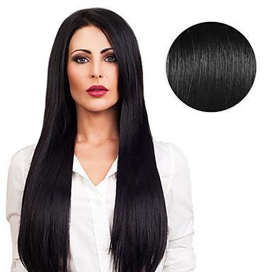 シールタイプ 人間の髪の拡張機能 人毛 ストレート 16 インチ 20 インチ