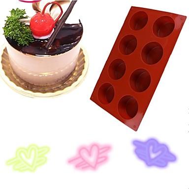 Ferramentas bakeware Silicone Anti-Aderente / Faça Você Mesmo Pão / Bolo / Chocolate Molde 1pç