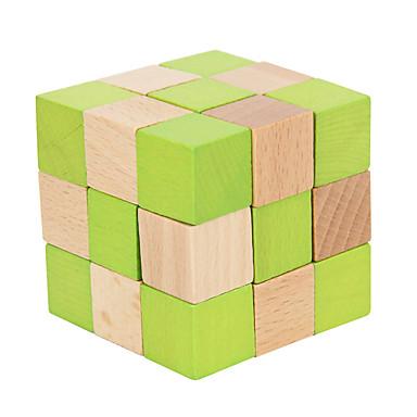 루빅스 큐브 부드러운 속도 큐브 매직 큐브 나무 퍼즐 두뇌 발달 장난감 교육용 장난감 퍼즐 큐브 IQ 테스트 나무 광장 선물