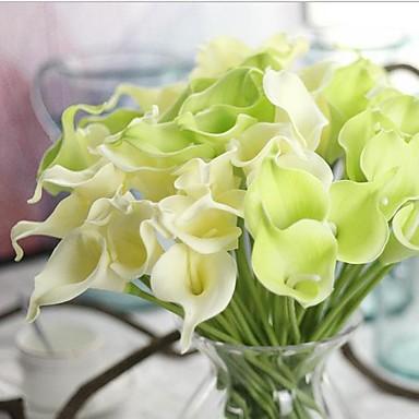 10 ramură Real atingere Cale Față de masă flori Flori artificiale