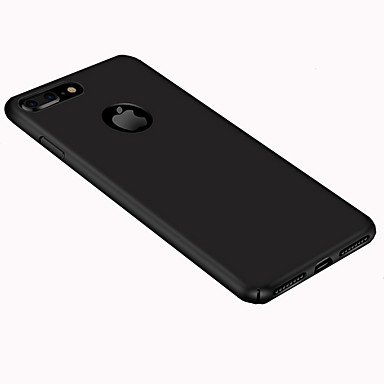 Capinha Para Apple iPhone 8 iPhone 8 Plus Ultra-Fina Áspero Capa traseira Côr Sólida Rígida PC para iPhone 8 Plus iPhone 8 iPhone 7 Plus