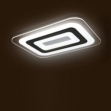 모던/콘템포라리 밝기조절가능 LED 원격 제어로 조광 가능 플러쉬 마운트 엠비언트 라이트 제품 거실 침실 서재/오피스 게임방 7200lm 220-240V