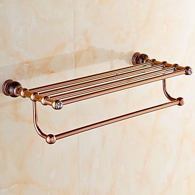 Prateleira de Banheiro Moderna Latão 1 Pça. - Banho do hotel Casal (L200 cm x C200 cm)