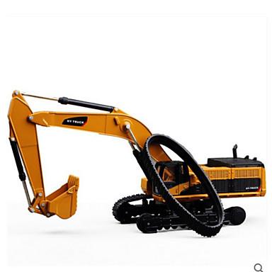 Escavadeiras Caminhões & Veículos de Construção Civil Carros de Brinquedo Plástico Crianças Brinquedos Dom