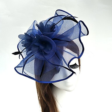 Tulle   Feather   Net Fascinators   Hats   Birdcage Veils with 1 Wedding    Special Occasion Headpiece 9eed5cc0bf6