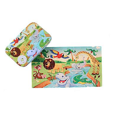 Carros de Brinquedo / Quebra-Cabeça / Quebra-Cabeças de Madeira Animais De madeira / Ferro Desenho Dom