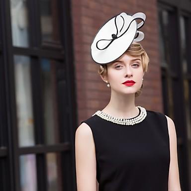 voordelige Hoeden-Polyesteri Kentucky Derby Hat / hikinauhat met 1 Bruiloft / Speciale gelegenheden  / ulko- Helm