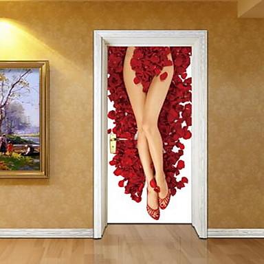 الناس ملصقات الحائط لواصق لواصق حائط مزخرفة, الفينيل تصميم ديكور المنزل جدار مائي جدار