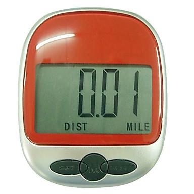 Smart-Armband Schrittzähler Herzfrequenzsensor ABS Schwarz Rot Grün