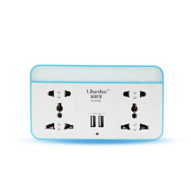 USB 충전기 데스크 충전기 USB 포트 포함 미국 충전 어댑터