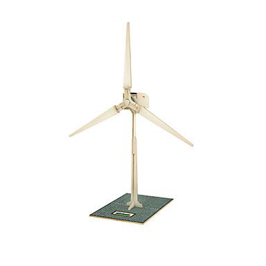 3D puzzle Větrný mlýn Zábava Dřevo Klasické