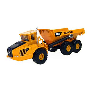장난감 건설차량 장난감 트럭 메탈 ABS 탄성 고무 조각 남여 공용 선물