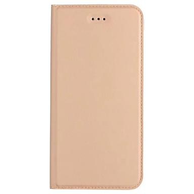 Capinha Para Samsung Galaxy A5(2017) A3(2017) Porta-Cartão Com Suporte Flip Ultra-Fina Capa Proteção Completa Côr Sólida Rígida PU Leather