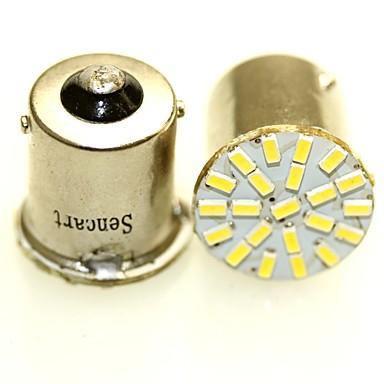 SENCART BA15S(1156) / BA15D(1142) / BAY15D(1176) Motorka / Auto Žárovky 1-2W SMD 3014 120-180lm Zadní světlo