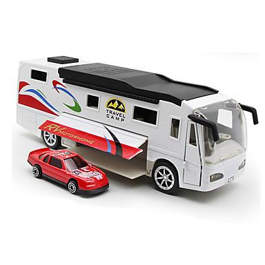 Carros de Brinquedo Brinquedos Caminhão Brinquedos Simulação Música e luz Ônibus Caminhão Liga de Metal Peças Unisexo Dom
