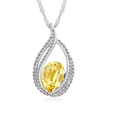 Dámské Náhrdelníky s přívěšky Šperky Šperky Křišťál Slitina Jedinečný design Módní Euramerican Šperky Pro Párty Ostatní Večerní oslava