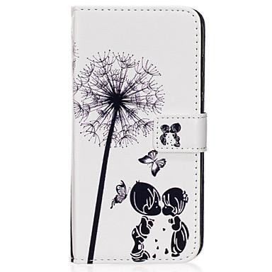 Capinha Para Samsung Galaxy S8 Plus / S8 Carteira / Porta-Cartão / Com Suporte Capa Proteção Completa dandelion Rígida PU Leather para S8 Plus / S8 / S7 edge