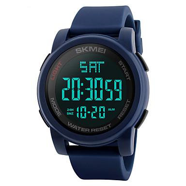 Relógio inteligente Impermeável Suspensão Longa Multifunções Esportivo Cronómetro Relogio Despertador Cronógrafo Calendário Dois Fusos