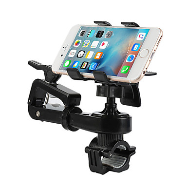 Motorcycle Bike Outdoor Universal Mobile Phone Mount Stand Holder Adjustable Stand Universal Mobile Phone Plastic Holder
