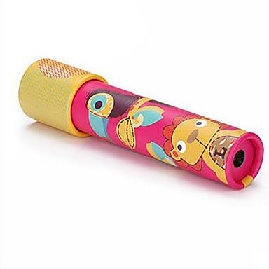 Kaleidoskop Hračky Jednoduchý Kulatý Papír Pieces Chlapecké Dívčí Dárek