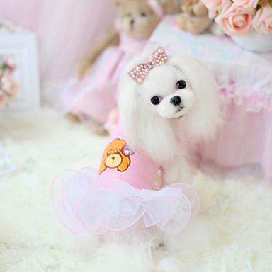 Cachorro Vestidos Roupas para Cães Casual Fashion Desenho Animado Ocasiões Especiais Para animais de estimação