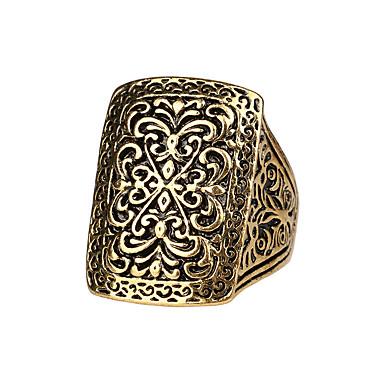 voordelige Herensieraden-Heren Ring Goud Zilver Legering Geometrische vorm Standaard Leger Schots Vuosipäivä Sieraden Magie