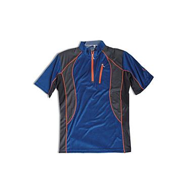 Herrn T-Shirt für Wanderer Golf Atmungsaktiv Schweißableitend T-shirt Oberteile für Rennen Freizeit-Radfahren Radsport/Fahhrad Sommer