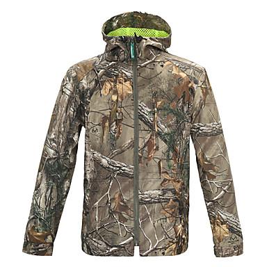 Respirabilidade / Anti-desgaste camuflagem Inverno Blusas Manga Longa para Caça