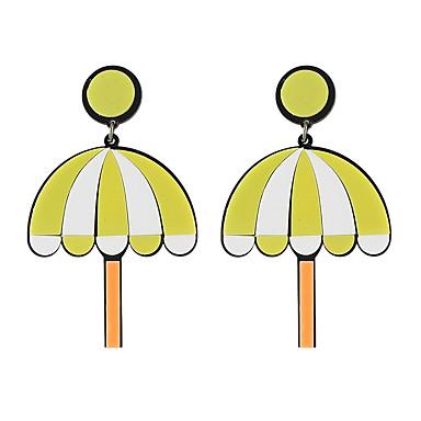 Damen Tropfen-Ohrringe Grundlegend Natur bezaubernd Aleación Geometrische Form Trapezform Anker Schmuck Alltag Normal