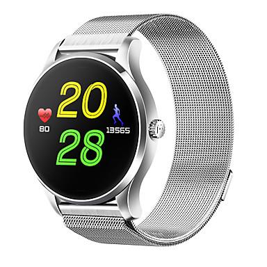 Relógio inteligente Tela de toque Monitor de Batimento Cardíaco Impermeável Pulso Rastreador Monitor de Atividade Monitor de Sono
