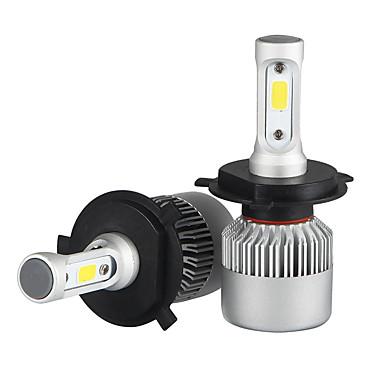 H4 Carro Lâmpadas 36W/pcs*2W COB 3600lm LED Lâmpada de Farol