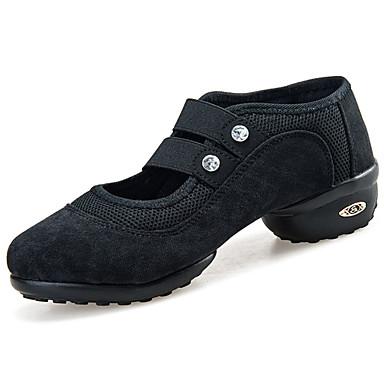 Mulheres Sapatos Couro Ecológico Primavera Verão Tênis Salto Baixo para Preto Vermelho Verde