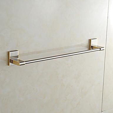Barra para Toalha Alta qualidade Neoclassicismo Metal 1 Pça. - Banho do hotel 1 barra de toalha Montagem de Parede