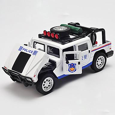 Spielzeug-Autos Spielzeuge Modellauto Polizeiauto Spielzeuge Metalllegierung Chrom Stücke Kinder Geschenk