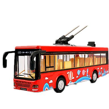 Carrinhos de Fricção Caminhão Brinquedos Carro Ônibus Liga de Metal Peças Unisexo Dom