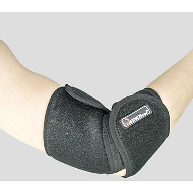 Cotoveleira para Corrida Exterior Adulto Anti-fricção Respirável Apoio conjunto Roupas para Lazer 1pç Preto