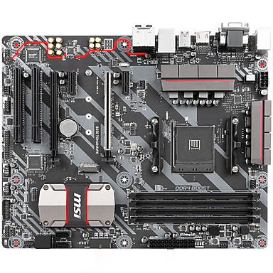 msi B350 tomahawk deska (AMD B350 / zásuvka AM4)
