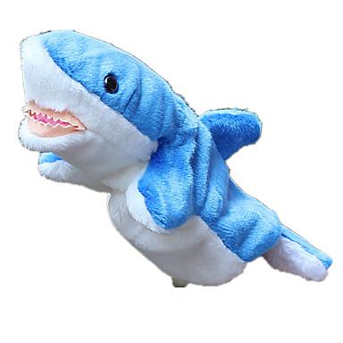 Fantoches Fantoche Brinquedos Tubarão Fofinho Adorável Tecido Felpudo Felpudo Crianças Peças