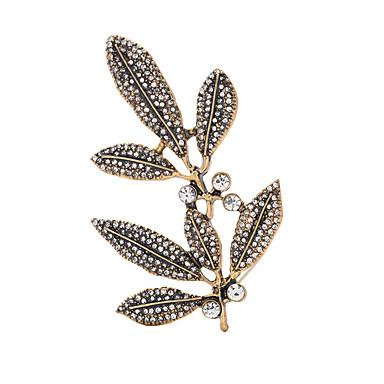 Dámské Brože přátelství Bokem Euramerican Slitina Šperky Pro Svatební Párty Večírek