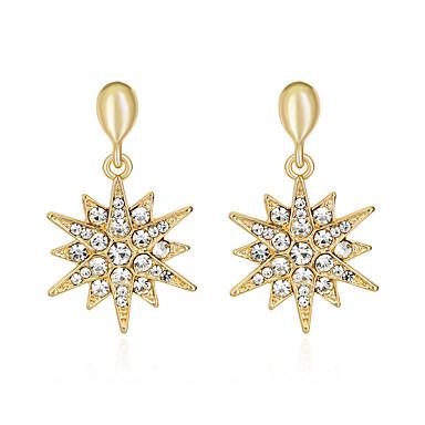 Dámské Peckové náušnice Módní Euramerican Slitina Geometric Shape Šperky Pro Svatební Párty Zvláštní příležitosti Narozeniny Zásnuby Denní