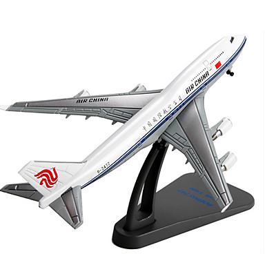 Brinquedos de Montar Carrinhos de Fricção Avião Brinquedos Artigos de mobiliário Aeronave Carro Liga de Metal Peças Unisexo Dom