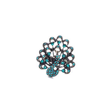 Damen Ring Einzigartiges Design individualisiert Simple Style Aleación Schmuck Für Hochzeit Party Geburtstag