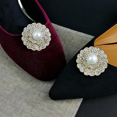 sotaque decorativo para pc com diamante para sapatos