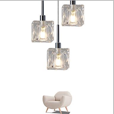 UMEI™ Luzes Pingente Luz Ambiente - Cristal LED Designers, Moderno / Contemporâneo, 110-120V 220-240V, Branco Quente Branco, Lâmpada