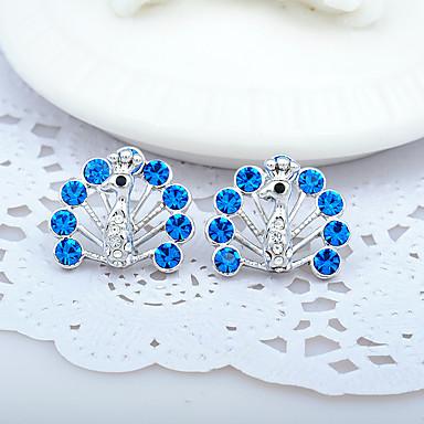 Damen Ohrring - Strass Personalisiert, Modisch, Euramerican Blau / Hellblau / Regenbogen Für Hochzeit / Party / Jahrestag