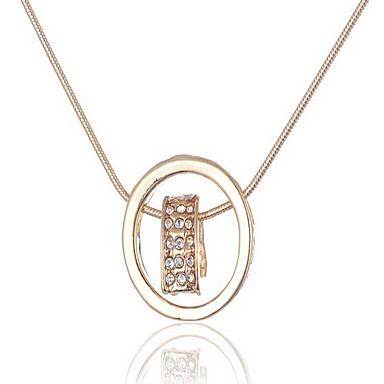 Dámské Náhrdelníky s přívěšky Šperky Šperky Štras Slitina Módní Euramerican Šperky Pro Svatební Zvláštní příležitosti