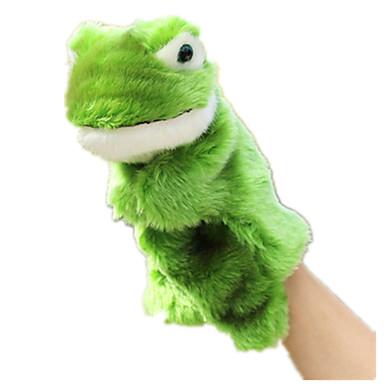 Fantoches de dedo Fantoches Brinquedos Sapo Animal Fofinho Animais Adorável Tactel Felpudo Crianças Peças