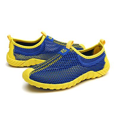 Para Meninos sapatos Tule Verão Tênis Corrida Combinação para Laranja Verde Azul