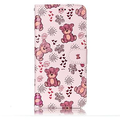 Capinha Para Samsung Galaxy S8 Plus S8 Porta-Cartão Carteira Com Suporte Flip Magnética Estampada Com Relevo Capa Proteção Completa
